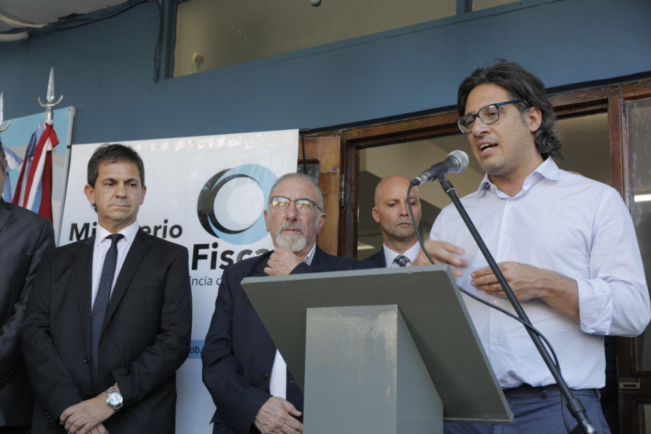 Garavano en Córdoba: Inauguró una oficina para causas de violencia familiar y unidades judiciales