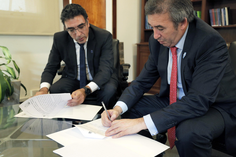 El Ministerio y la Federación Argentina de la Magistratura firman un convenio para mejorar el servicio de justicia