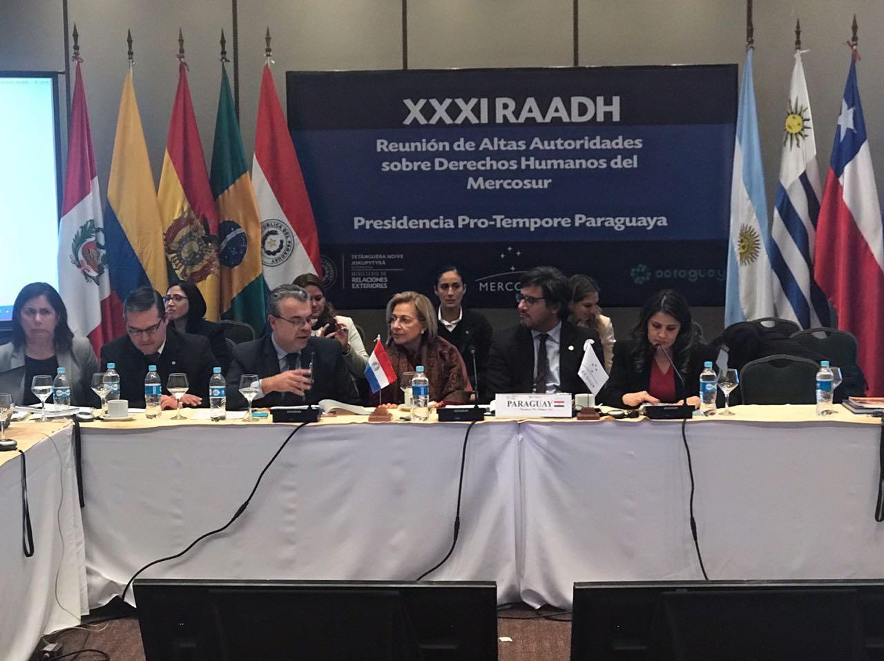 Mercosur: Ministros acuerdan acciones conjuntas para combatir el narcotráfico y el crimen organizado