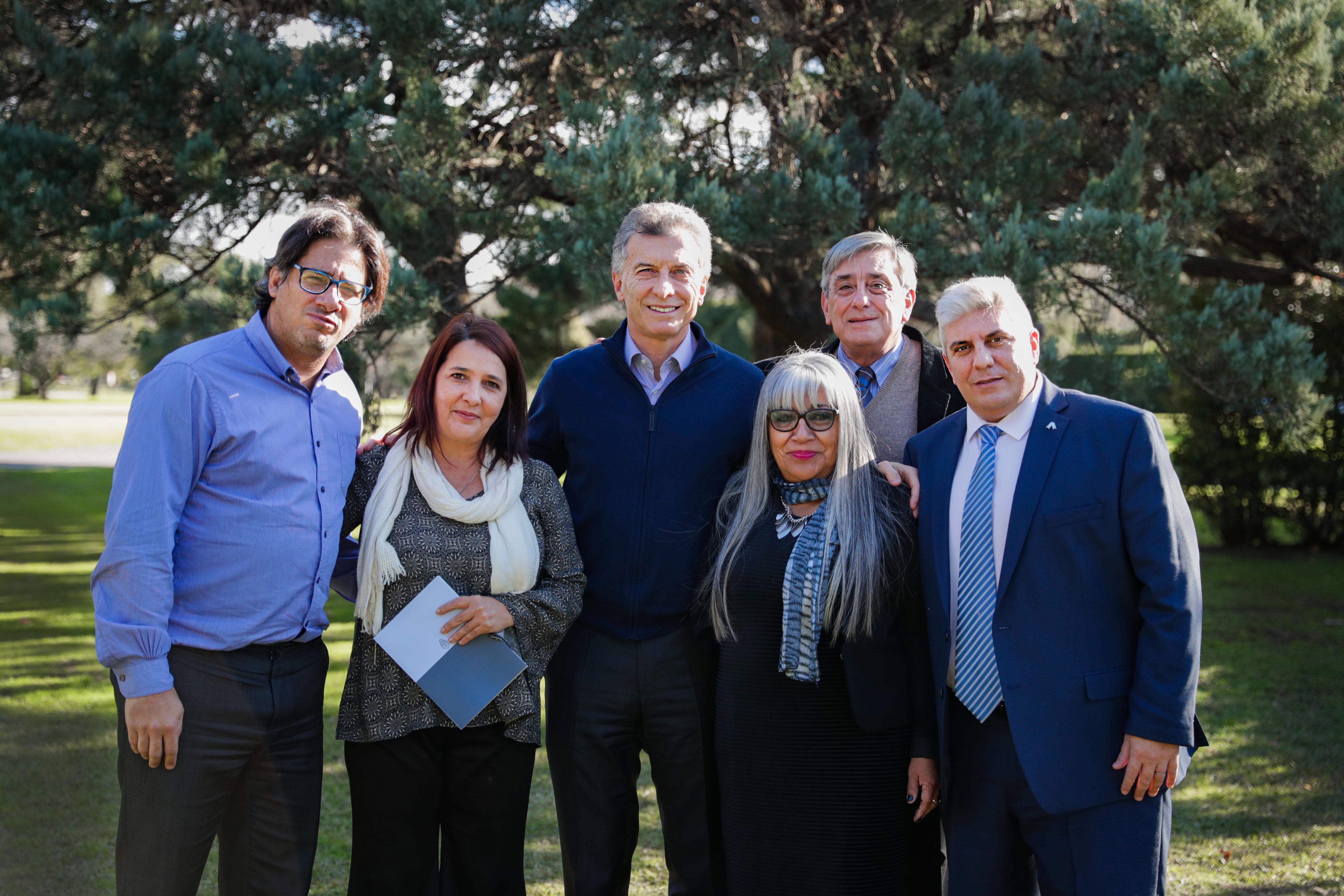 El presidente Macri recibió a miembros del Observatorio de Víctimas de Delitos